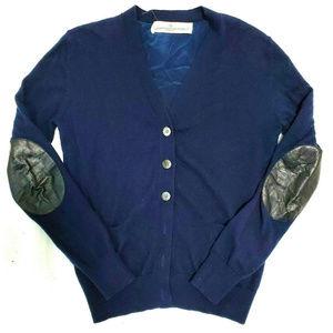 Golden Goose Womens Navy Blue Cardigan Size Medium